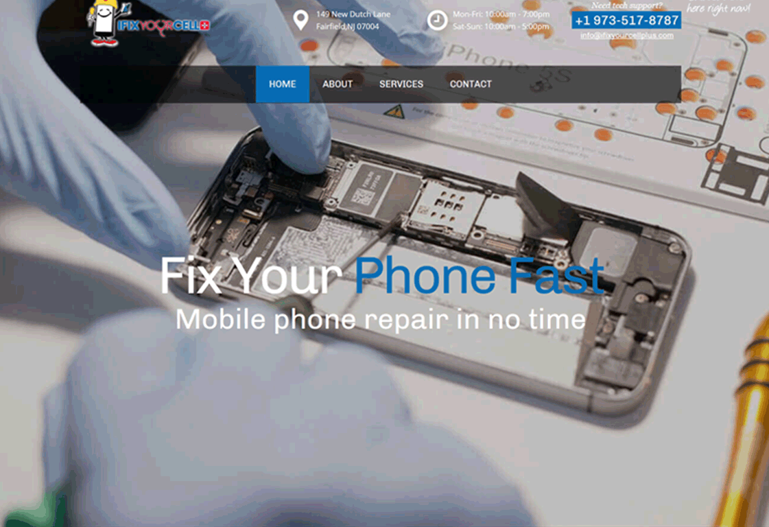 I Fix Your Cell Plus
